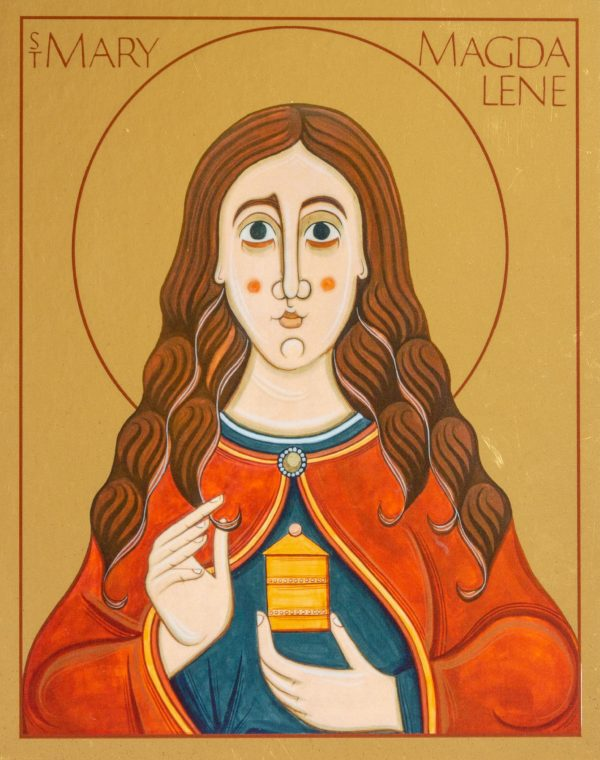 Print icon of Mary Magdalene