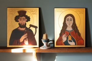 Conestoga Icons on Shelf