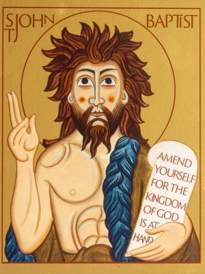 Saint John the Baptist Icon