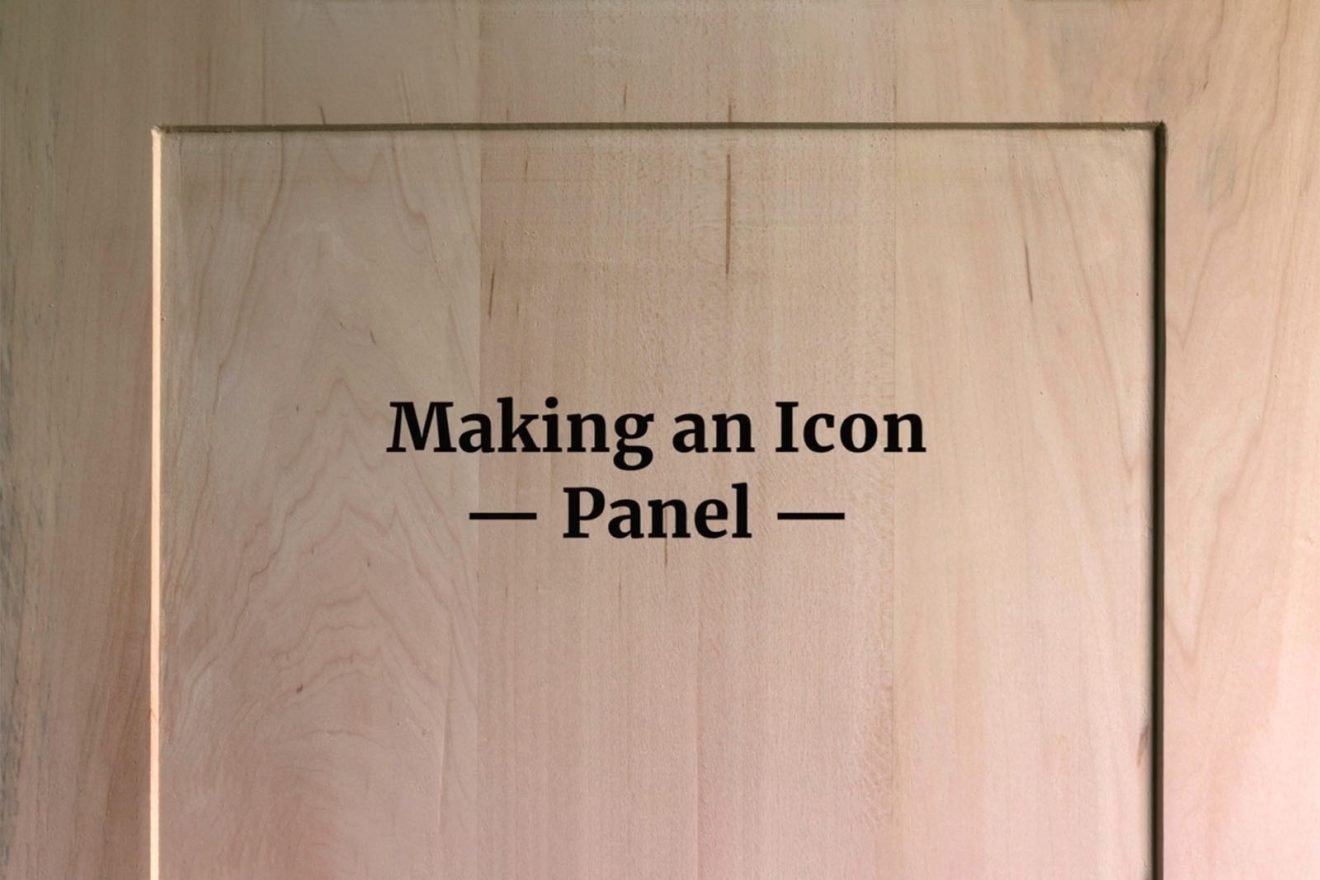 Making An Icon Panel